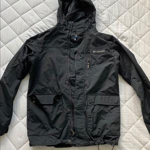 Columbia men's light weight rain jacket small